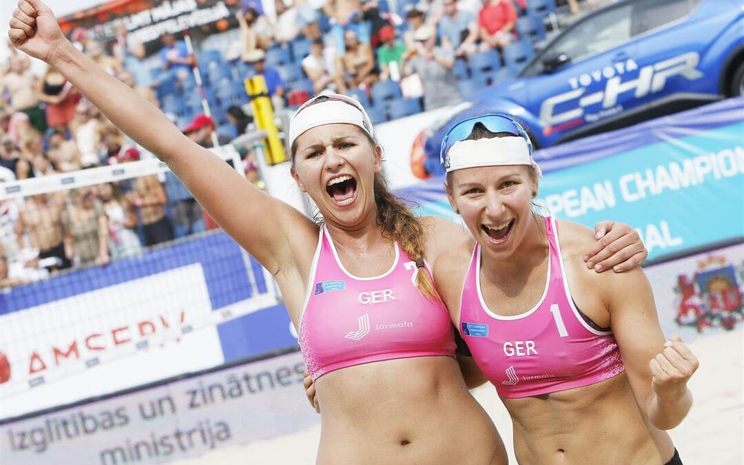 Glenzke/Grossner win European Championships – and are denied further support by the German volleyball association (DVV)