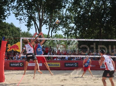 Playing like the pros with the official FIVB World Championships game ball