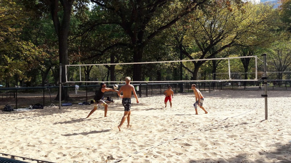 Beach Volleyball Camp