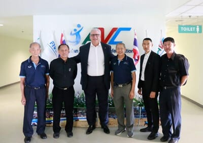 Asian Beach Volleyball on the rise with FIVB support