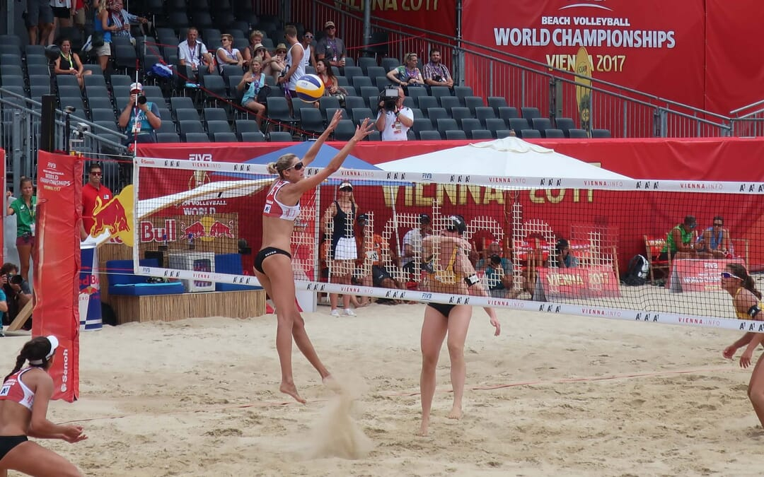 How to transition from indoor to beach volleyball
