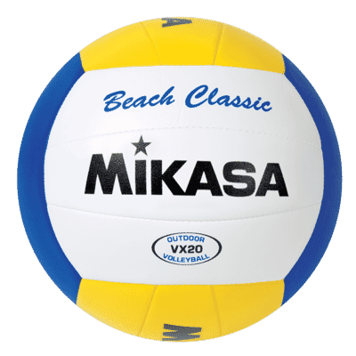 The budget option: Mikasa VX20 Beach Classic Volleyball