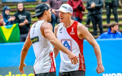 Tri Bourne with stunning world champs semifinal comeback – Vikings unstoppable