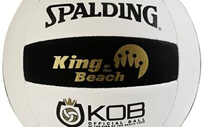 Being King of the Beach with the KOB Spalding Volleyball