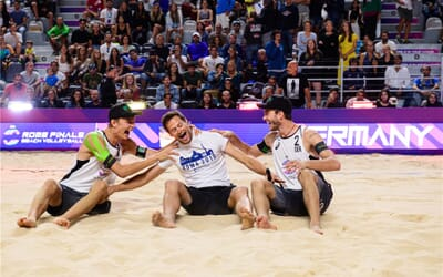 Germans and Russians reach Rome final after spectacular semifinal showdown